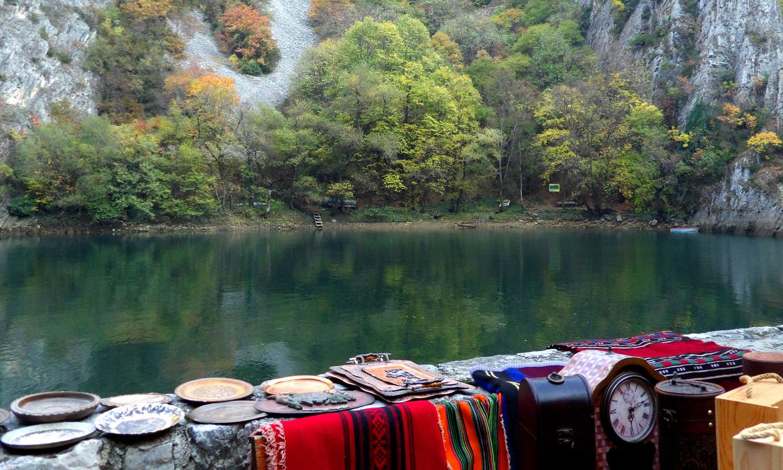 Some things to sell at Matka Canyon [Skopje, 2017] by Mafalda Tenazinha