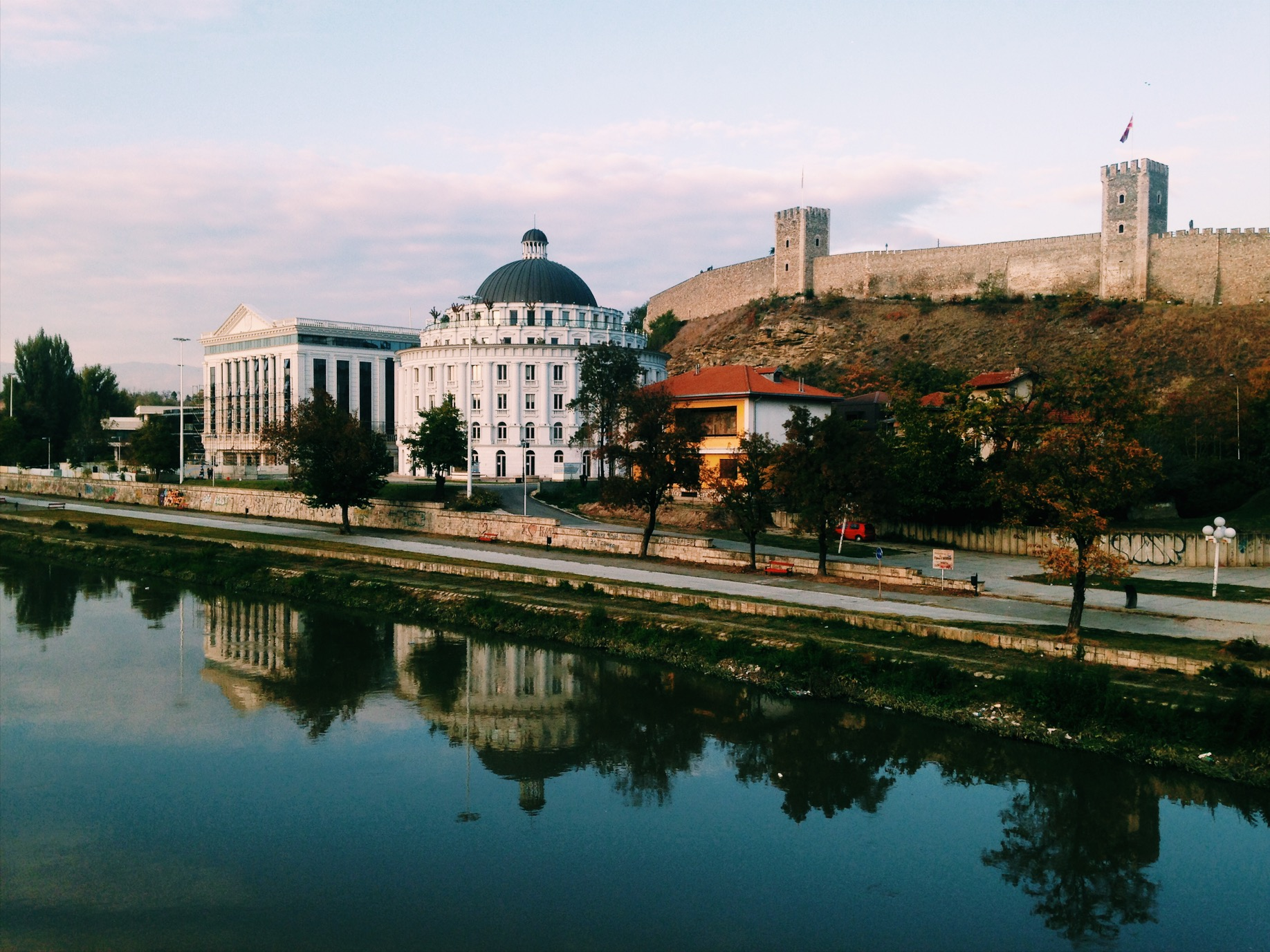 Water Reflexions of Skopje [2017] by Mafalda Tenazinha