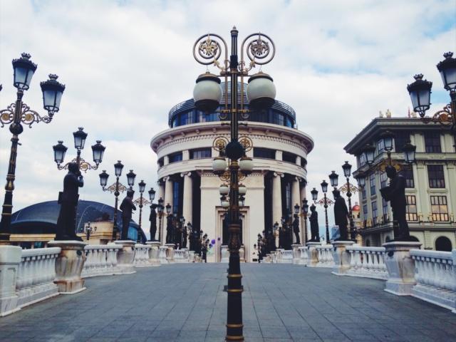 The Art Bridge [Skopje, 2017] by Mafalda Tenazinha