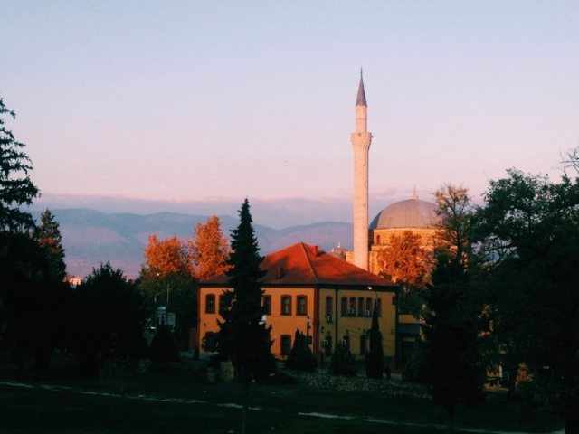 International Balkan University and Suli An in Autumn colors [Skopje, 2017] by Valentina Orlando
