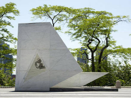 The Ark of Return, monument by United Nations in New York to commemorate the history of slavery and slave trade