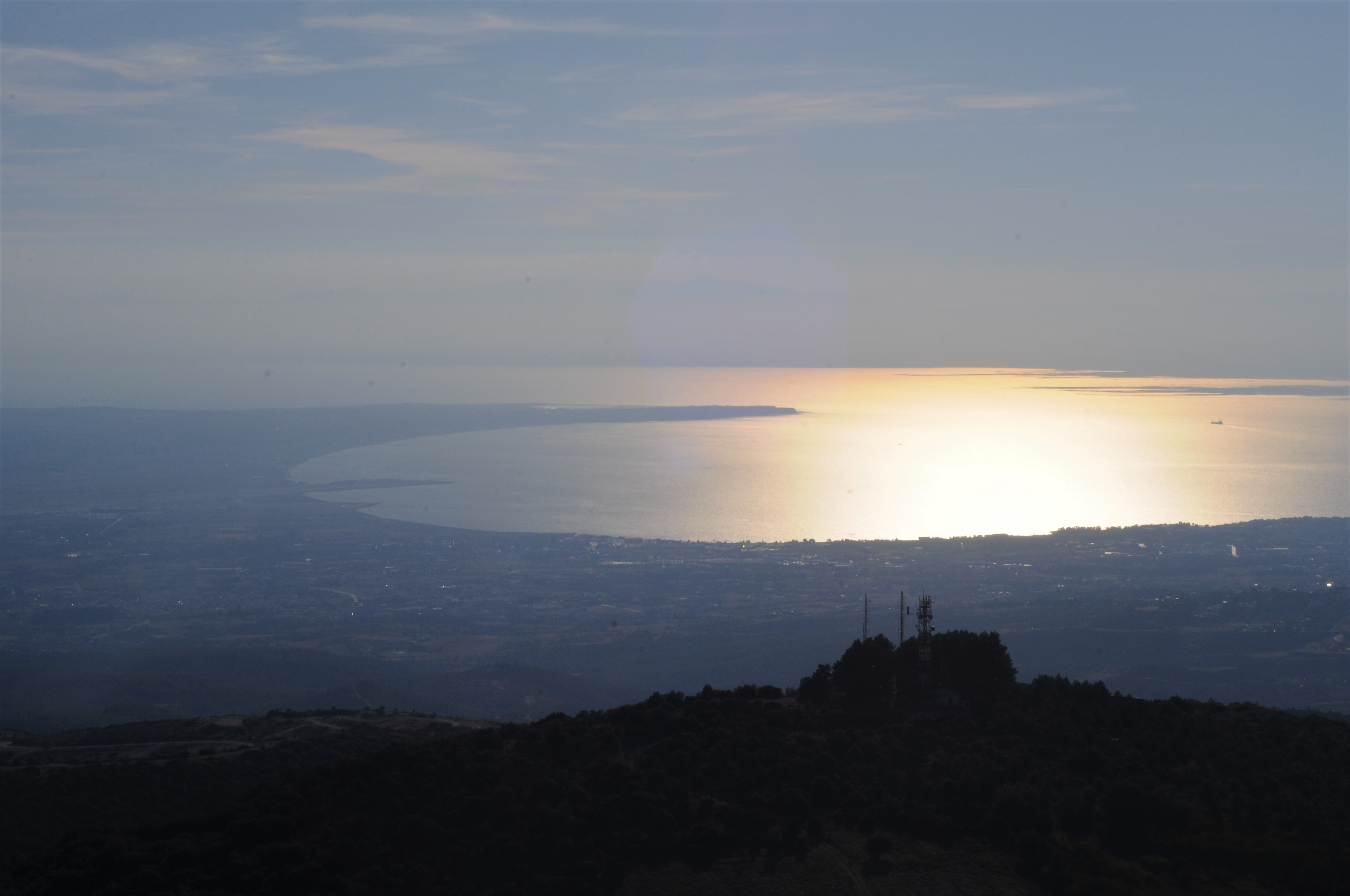View from mount Chortiatis