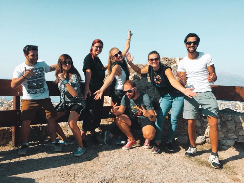 New volunteers in Patras