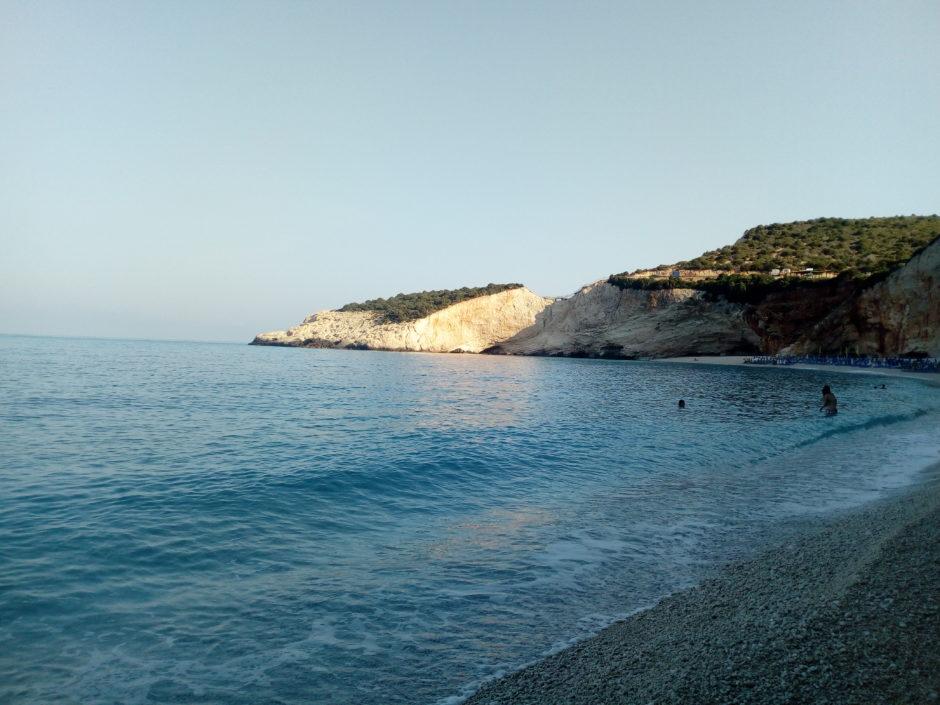 A beach in Lefkada