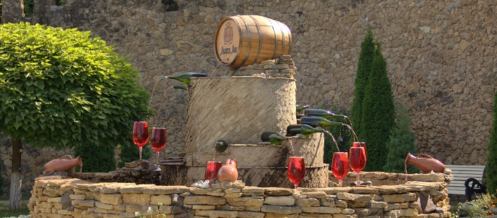 Moldovan wine factory