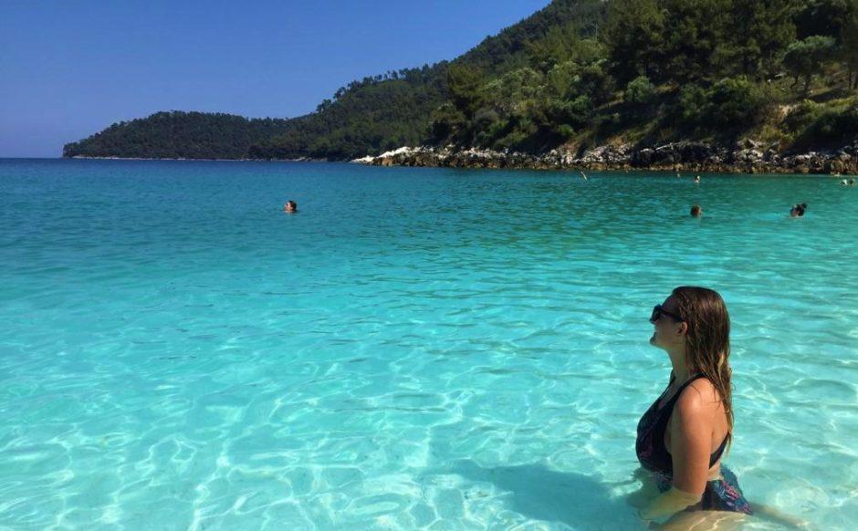 Agnieszka in Marble beach