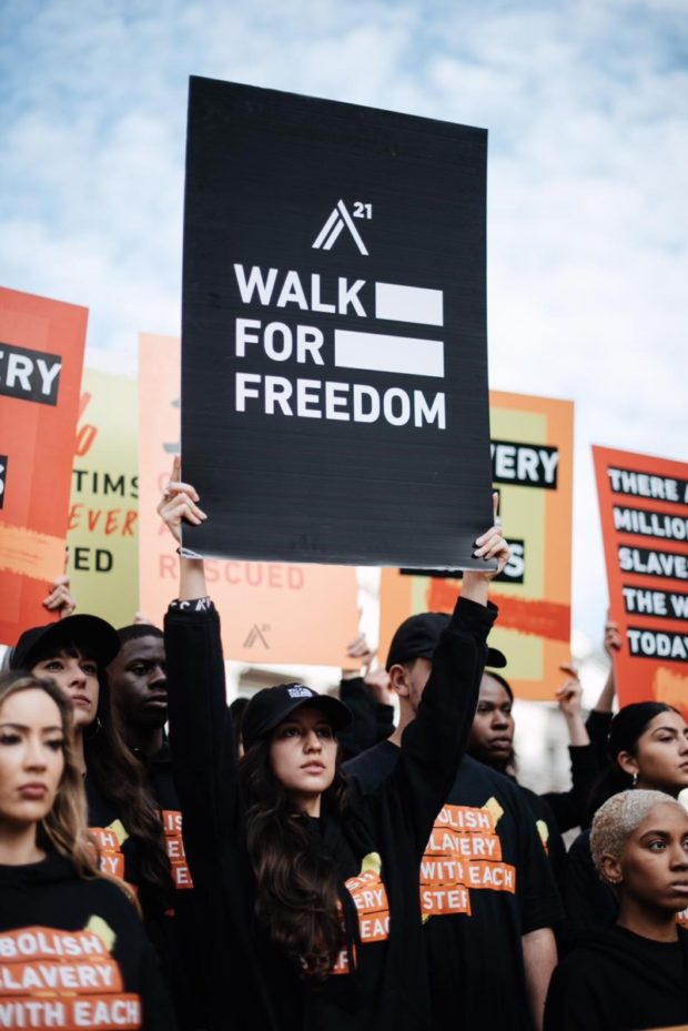 walk for freedom A21