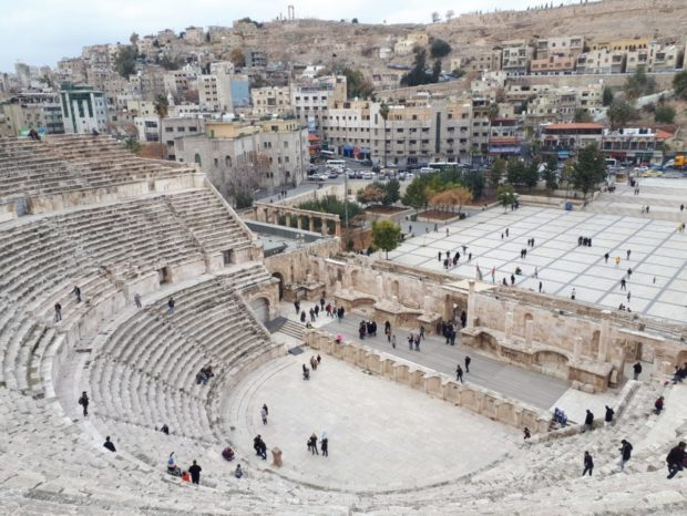 Roma Theatre in Amman