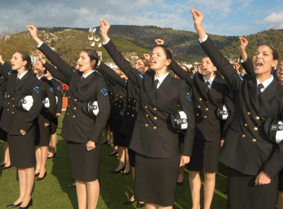 greek women officers