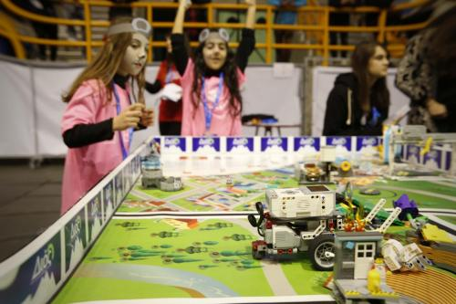 Lego Robot Competition
