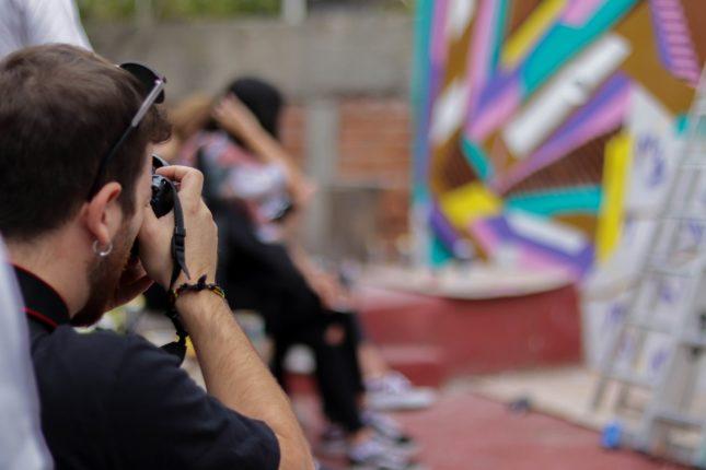 Volunteer Umberto photographic graffiti artwork