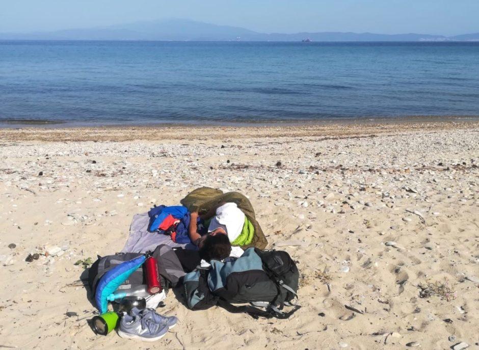 A travel idea for Erasmus in Thessaloniki: sleep on the beach