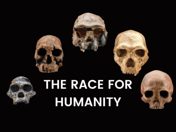 The race for Humanity: cover image